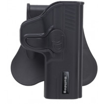 Bulldog Rapid Release Paddle Holster, Springfield XDs, Black, Right Hand