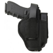 "Uncle Mikes Sidekick, Hip Holster W/Magazine Pouch For 5-1/5""-6"" .22 Autos, Left Hand"
