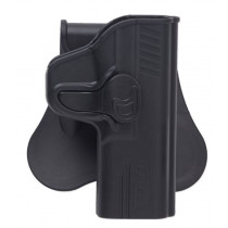 Bulldog Rapid Release Paddle Holster, Walther P99, Black, Right Hand