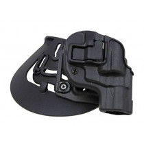 "Blackhawk Serpa CQC OWB Concealment Paddle/Belt Holster For S&W J Frame Revolvers With 2"" Barrels, Right Hand"