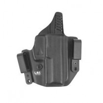 "L.A.G. Tactical Defender Series IWB/OWB Holster for Springfield XD Service 4"" 9/40, Black, Right Hand"