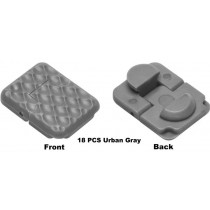 Rail Covers Urban Gray 18 Pieces Of Keymod Rail Covers