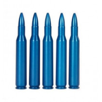 A-Zoom Value Pack .270 Winchester Snap Caps Aluminum Blue, 5 Pack