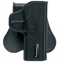 Bulldog Rapid Release Paddle Holster, Glock 42, Black, Right Hand