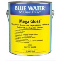 Blue Water Marine Mega Gloss Med Grey, 1 Quart
