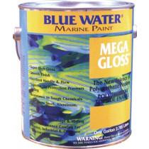 Blue Water Mega Gloss Paint Flat Black