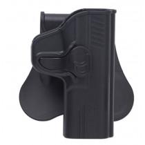 Bulldog Rapid Release Paddle Holster, Beretta PX4 Storm, Black, Right Hand