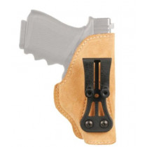 Blackhawk! Leather Tuckable Holster for Glock 21/Smith & Wesson M&P, Left Hand