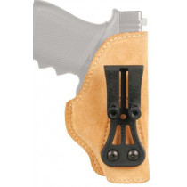 BLACKHAWK! Leather Tuckable Holster, Brown, Right Hand, Government 1911
