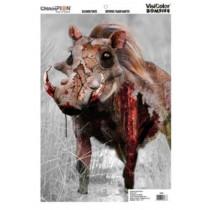 "Champion VisiColor Zombie Slasher Tusks Target 12"" x 18"" Paper"