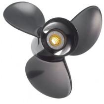 "Solas Propellers Amits 3 Series 4-1/2""D x 13""P, RH Rotation, 3-Blade Aluminum Thru Hub Exhaust Propeller"