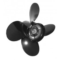 "Michigan Wheel Vortex XHS Series 11-1/2""D x 9""P, RH Rotation, 4-Blade Aluminum Thru Hub Exhaust Propeller"