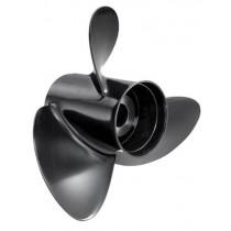 "Solas Rubex 3 Series 15-5/16""D x 13""P, RH Rotation, 3-Blade Aluminum Thru Hub Exhaust Propeller"