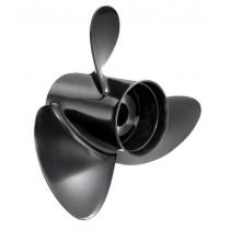 "Solas Rubex 3 Series 13-1/2""D x 14""P, RH Rotation, 3-Blade Aluminum Thru Hub Exhaust Propeller"