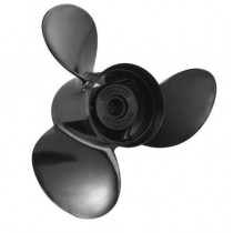 "Michigan Wheel Michigan Match Series 9-7/8""D x 11""P, RH Rotation, 3-Blade Aluminum Thru Hub Exhaust Propeller"