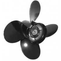 "Michigan Wheel Vortex XHS Series 12-1/2""D x 19""P, RH Rotation, 4-Blade Aluminum Thru Hub Exhaust Propeller"
