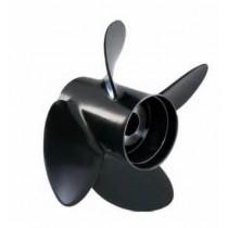 "Solas Rubex 4 Series 12-1/2""D x 19""P, RH Rotation, 4-Blade Aluminum Thru Hub Exhaust Propeller"