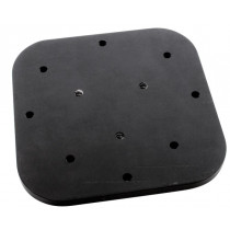 Marine Tech Aluminum Mounting Plate for Humminbird/Lowrance
