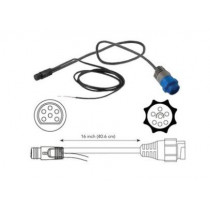 Motor Guide 6-Pin Transducer Adapter Cable for Lowrance