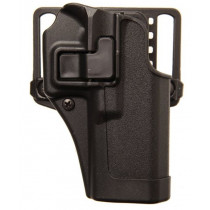 Blackhawk SERPA CQC Belt/Paddle Holster For Glock 38, Black, Right Hand