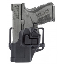 Blackhawk Serpa CQC Belt/Paddle Holster For Springfield XD Sub Compact, Black Polymer, Left Hand