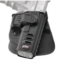 Fobus CH Rapid Release System Level 2 Roto-Belt Holster Fits Glock 17/19/22/23/31/32/34/35 Black Right Hand