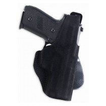 Galco Paddle Lite Holster, Ruger LCR, Black, Right Hand