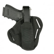 "Blackhawk Sportster 3-Slot Pancake Holster, Ambidextrous, Medium to Large Auto 3-1/4"" to 3-3/4"""