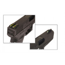 Truglo Night Sights Green Front/Yellow Rear For Springfield XD/XDM/XDS