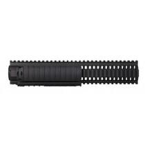 Colt RIS Handguard Quad Rail For Colt AR-15 22 Tactical Rimfire, Rifle Length, Aluminum, Black