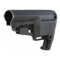 Mission First Tactical Battlelink Utility Low Profile AR-15 Stock, 6 Position Commercia Spec,l Black
