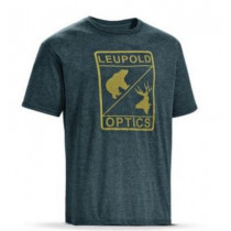 Leupold Optics Tee Graphite Heather, Mens, Size: Extra Large