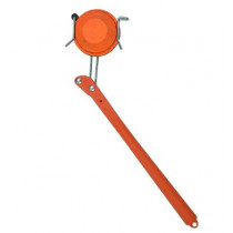 Birchwood Casey WingOne Ultimate Hand Held Trap Clay Target Thrower, Right Hand, Red