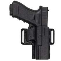 Uncle Mike's Reflex Open Top Holster, Size 20, Beretta 92S, Black