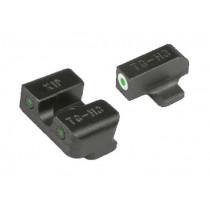 TRUGLO Tritium Pro Sight Set Springfield XD, XDM,