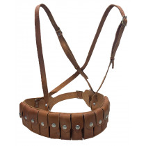 Broomhandle Mauser Ammo Belt, Leather w/ Strap, *New*