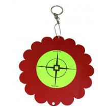 Birchwood Casey Shoot-N-Spin Air Gun Target Steel Red