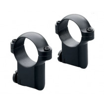 "Leupold 1"" Ring Mounts For Ruger M77, Medium Height"