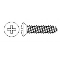 Handi-Man Marine Stainless Steel Phillips Oval Head Self-Tapping Screws