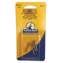 Handi-Man Phillips Self Tapping Oval Screw