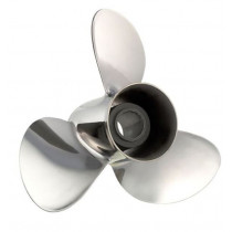 SOLAS Propellers Rubex RH Rotation 3-Blade Stainless Steel Thru Hub Exhaust Propeller