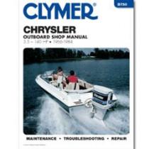 Clymer Chrysler 3.5-140 HP Outboards (1966-1984)