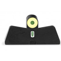 XS Sights DXT2 Big Dot Night Sights for Smith & Wesson M&P Shield, Green Tritium Front/Yellow Ring Tritium Stripe Rear
