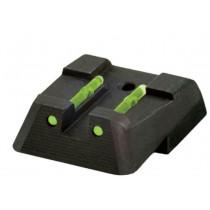 HiViz LiteWave Fiber Optic Rear Sight HK45/P30/VP Series