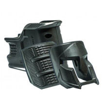 Mako MOJO AR-15 Magazine Well and Grip with Phalanx Spartan Helmet Insert, Black