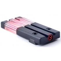 Mako Group Mepro FT Bullseye Micro Optic Pistol Sight Fiber Optic/Tritium Red S&W M&P Shield