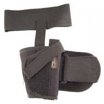 """Uncle Mike's Sidekick Ankle Holsters Fits 3"""" - 4"""" Barrel, Med. Autos .32 - .380 cal. - Right Hand"""