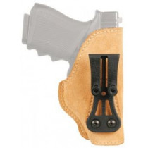 Blackhawk Leather Tuckable Holster Brown Right Hand Glock 30/Smith & Wesson M&P Compact And Other Wide Frame Compact Autos