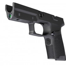 SIG Sauer LIMA5 P320/P250 Compact Green Laser Grip Module 9mm/.40/.357 OEM Frame Medium Grip Polymer Black