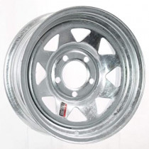 "Trailer Rim 13 ""x4.5"" 5 Lug on 4.5 ""Center Galvanized Spokes"